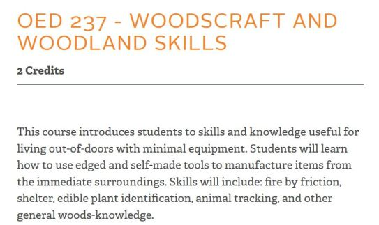 Woodscraft